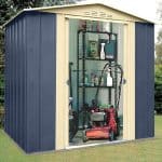 Outside Storage Sheds - 6 x 5 Shed Baron Grandale Mountain Blue Metal Outside Storage Sheds