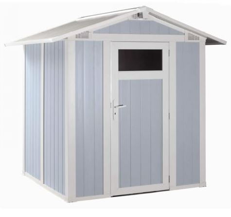 grosfillex 6 x 5 3b blue utility outside storage sheds
