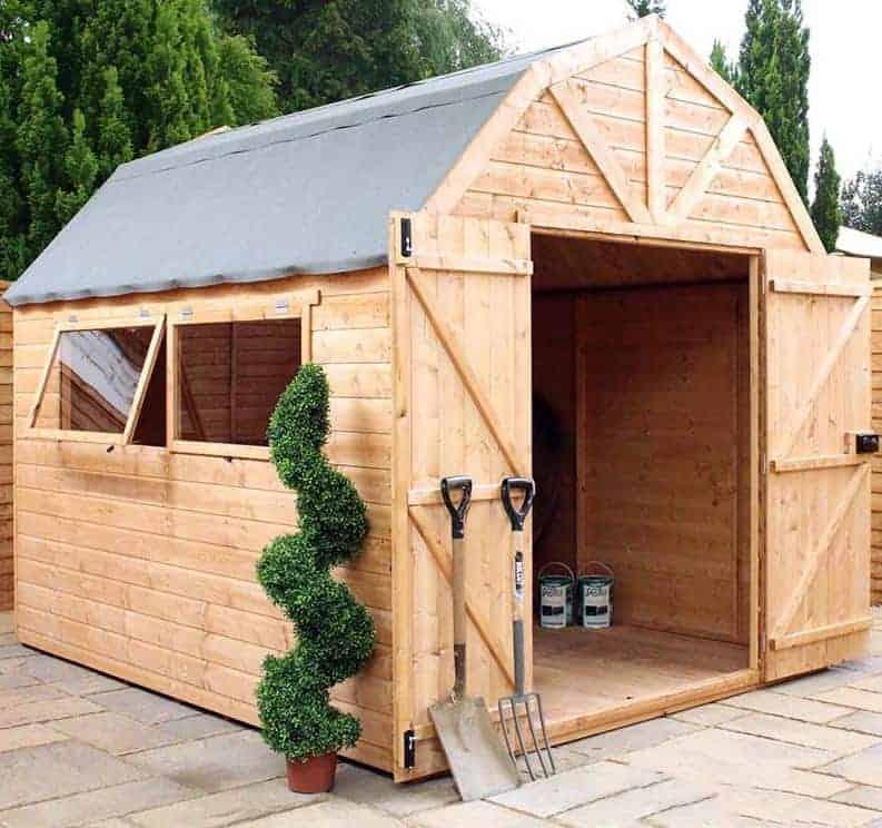 10 x 8 windsor groundsman dutch barn quality sheds - Garden Sheds Mn