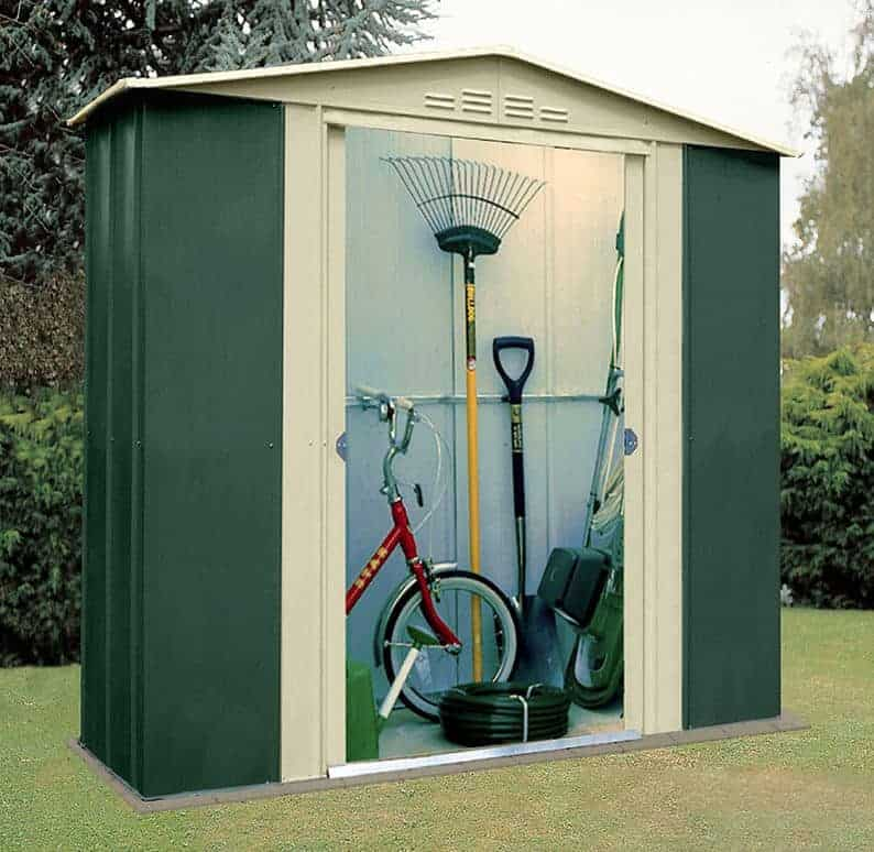Small metal storage sheds style for Garden shed 6 x 4