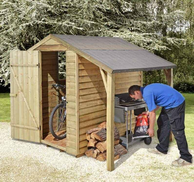 Small storage sheds uk style for Small sheds for sale