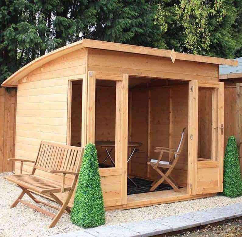 8x8 Windsor Helios Contemporary Wooden Summerhouse