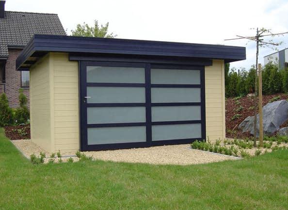 Summer House/Log Cabin Fonteyn Boukje Flat Roof 246 x 246 cm High Pressure Treated