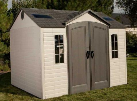 10' x 8' Lifetime New Edition Single Entrance Plastic Shed (3.05m x 2.44m)