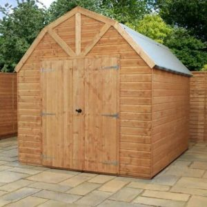 d mercia ft pdp products wooden w x shed garden overlap apex sheds