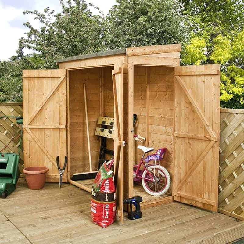 Walton's Tongue and Groove Modular Pent Garden Storage Shed