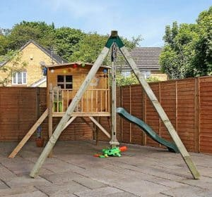 13 X 12 Windsor Rose Tower Activity Centre Playhouse - Type And Roof Size