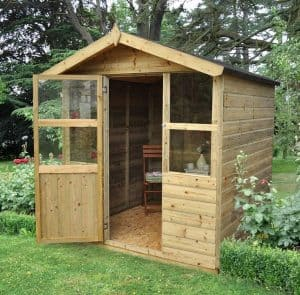 6 x 6 Sherborne Summerhouse Cladding Frame And Floor