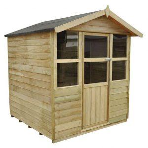 6x6 Purton Summerhouse Doors And Windows