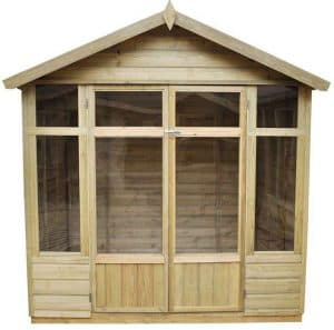 7 x 5 Burford Summerhouse Type And Roof Size