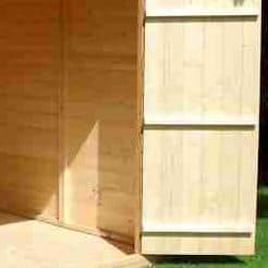 7 x 7 Shire Barn Double Door Shed Cladding Frame And Floor