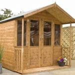 7 x 7 Traditional Summerhouse with Veranda