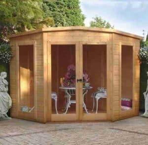 7x7 Shire Barclay Corner Summerhouse
