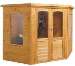 7x7 Sudbury Corner Summerhouse Doors And Windows