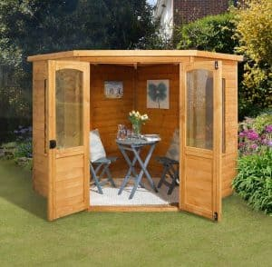 7x7 Sudbury Corner Summerhouse Type And Roof Size