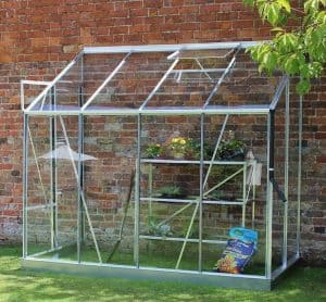 8'4 x 4'3 Halls Europa 84 Greenhouse Lean To Greenhouse Type And Roof Size