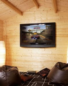 8'x 6' Alpine Kimberley 19mm Log Cabin Cladding, Frame And Floor
