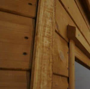 9 x 9 Waltons Premier Corner Summerhouse Customisation Options And Extras