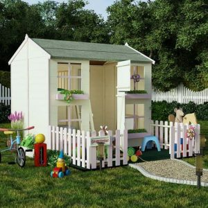 BillyOh Mad Dash 4000 Gingerbread Playhouse - Type And Roof Size