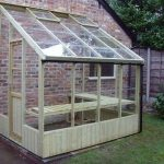 Dove Wooden Lean-to Greenhouse 6'7 x 20'10