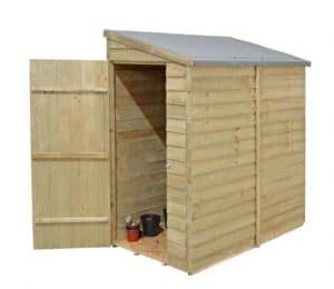 Forest Economy 6 x 3 Overlap Wall Shed - Cladding Frame And Floor