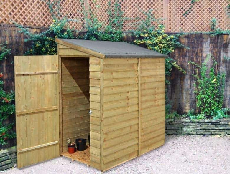 Forest Economy 6 x 3 Overlap Wall Shed