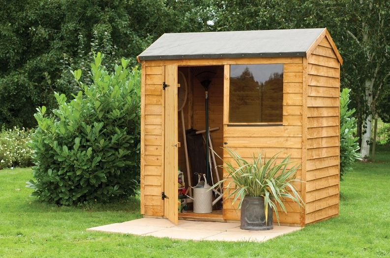 Forest Economy 6 x 4 Overlap Reverse Apex Shed