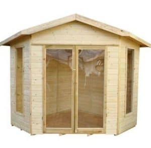 Forest Honeybourne Pressure Treated Corner Summer House