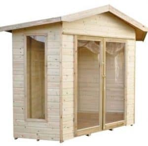Forest Honeybourne Pressure Treated Corner Summer House Treatment Requirement And Warranty