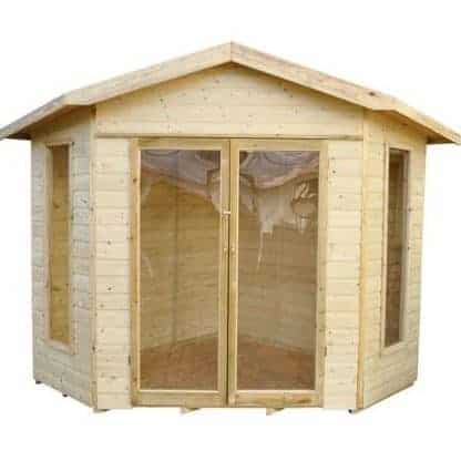 Forest Honeybourne Pressure Treated Corner Summer House