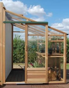 Growhouse Lean-To Greenhouse 6'x10' Lean To Greenhouse Type And Roof Size