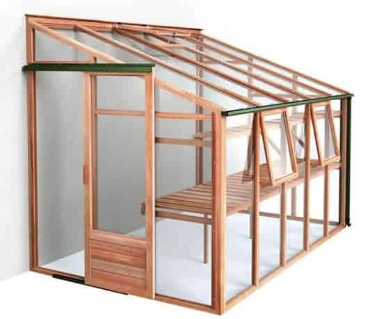 Growhouse Lean-To Greenhouse 6'x10'