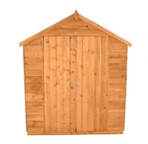 Hartwood 6' x 10' Double Door Overlap Apex Workshop Shed Type And Roof Size
