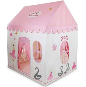 Kidsley Ballet School Playhouse with Quilt - Playhouse Type And Roof Size