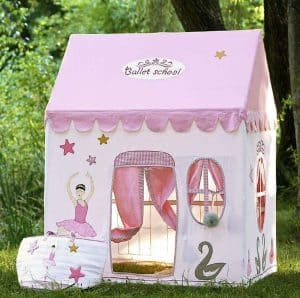 Kidsley Ballet School Playhouse with Quilt - Security And Privacy
