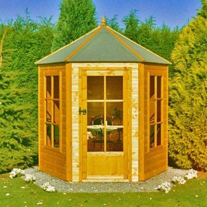 Pinnacle 6ft x 6ft Gazebo Summerhouse