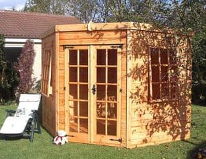 Shedlands Traditional Stowe Summerhouse 6'x6' Type And Roof Size