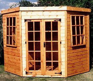 Shedlands Traditional Stowe Summerhouse 6'x6'