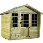 Strongman 6ft x 8ft Alpine Tanalised Summerhouse