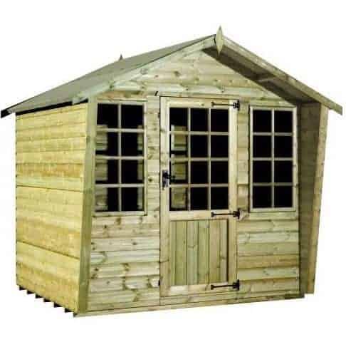 Strongman 6ft x 8ft Alpine Tanalised Summerhouse