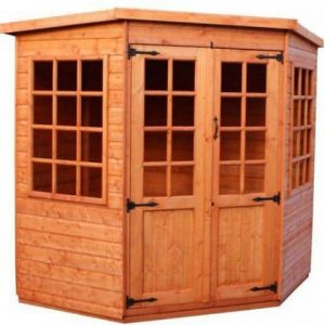 Strongman 7ft x 7ft Pentagon Shiplap Corner Summerhouse
