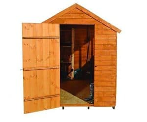 Wickes Overlap Dip Treated Apex Shed 5 x 7 Shed Type and Roof Size