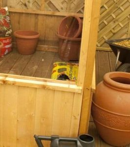 Winchester 8ft x 4ft Greenhouse Lean to Pent Unit - Cladding Frame And Floor