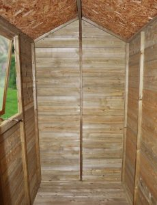 6 x 4 Shed-Plus Champion Tongue And Groove Apex Wooden Cladding Frame And Floor