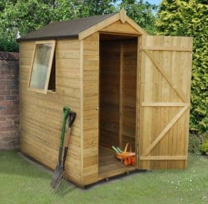6 x 4 Shed-Plus Champion Tongue And Groove Apex Wooden Sheds