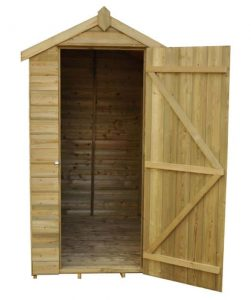 6 x 4 Shed-Plus Champion Tongue And Groove Apex Wooden Sheds Doors And Windows