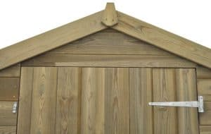6 x 4 Shed-Plus Champion Tongue And Groove Apex Wooden Sheds Security And Privacy