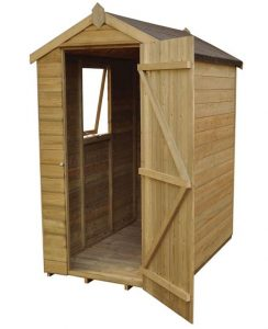 6 x 4 Shed-Plus Champion Tongue And Groove Apex Wooden Sheds Treatment Requirement And Warranty