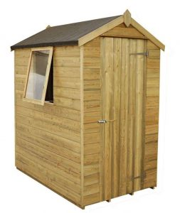 6 x 4 Shed-Plus Champion Tongue And Groove Apex Wooden Sheds Type And Roof Size