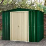 8 X 6 Lotus Heritage Green Shed